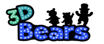 3D Bears 01