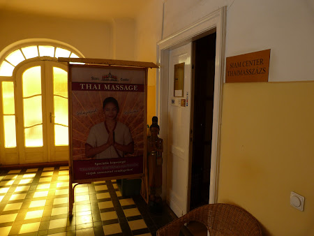 Spa Budapesta: masaj thailandez