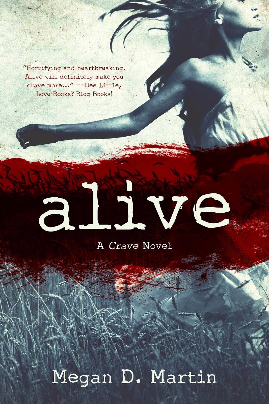 {Excerpt+Giveaway} Alive by Megan D. Martin