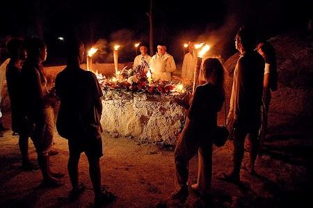 Imagini Mexic: Ceremonie mayasa