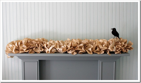Book page garland like pottery barn