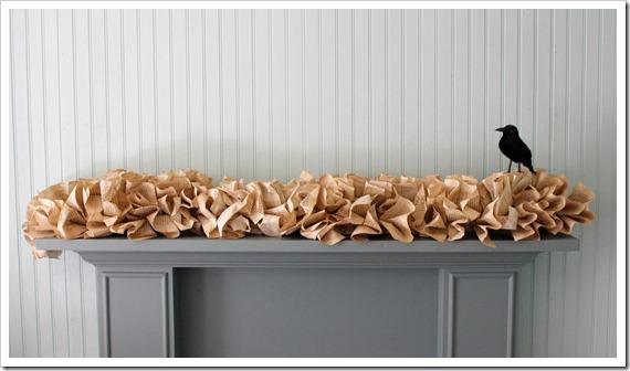 Book page garland like pottery barn