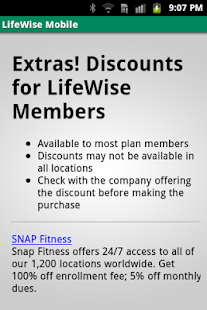 LifeWise Mobile - screenshot thumbnail