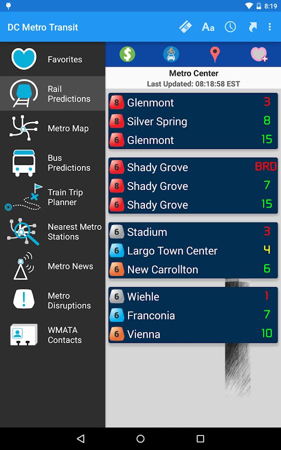 DC Metro Transit - Free - screenshot
