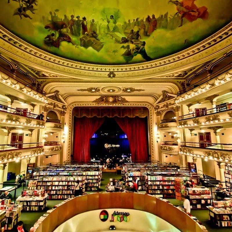 El Ateneo Grand Splendid: A Beautiful Bookstore in a Former Theater