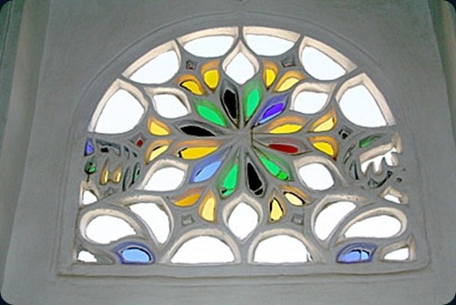 San'a ypical-Stained-Glass-Wi