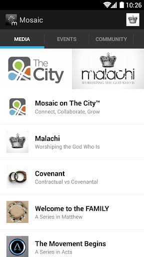 The Mosaic Church App