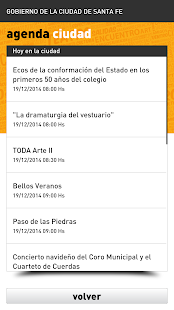 Agenda Ciudad SFC- screenshot thumbnail