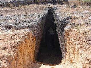 шахтные гробницы Микенского периода - Мазараката (Mazarakata), профиль камертонной   антенны