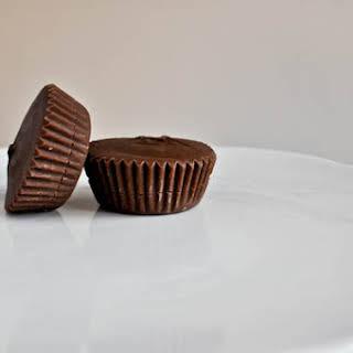 Homemade Chocolate Caramel Cups.