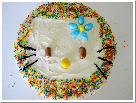 Cutest Hello Kitty Cake