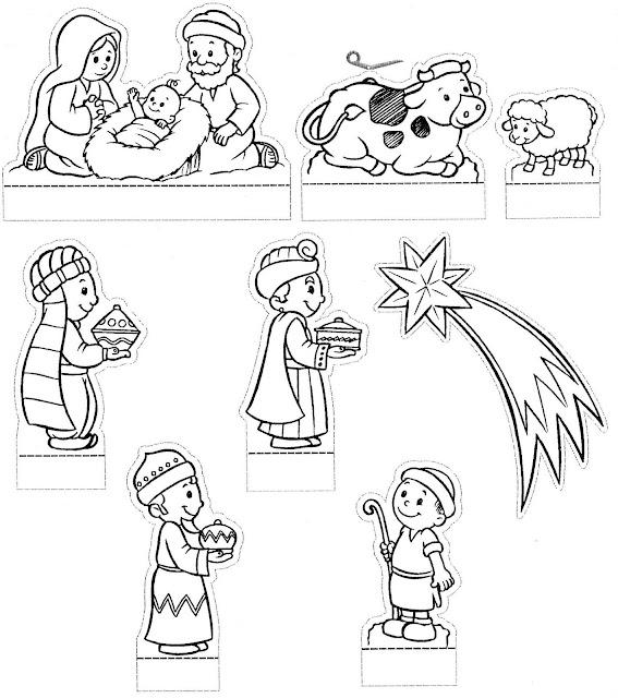 Recortable Nacimiento De Jesus