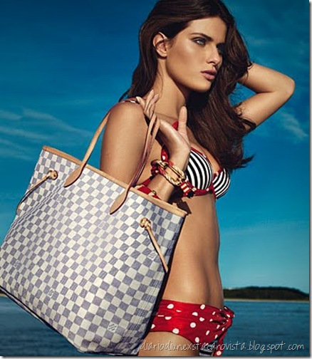 Damier Azur Neverfull Vuitton