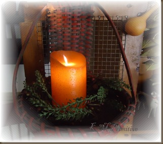 basket candle