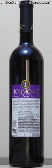 Jolimont Tannat