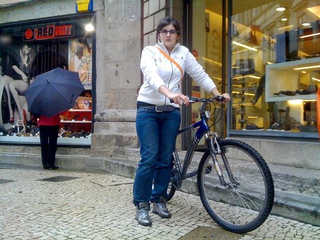 Ciclistas Urbanos em Braga