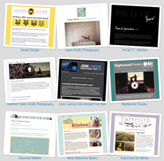 Marketing actuary use mad mimi for your email newsletters for Mad mimi templates