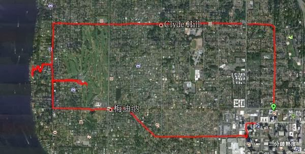 Bill Gates House Running Route