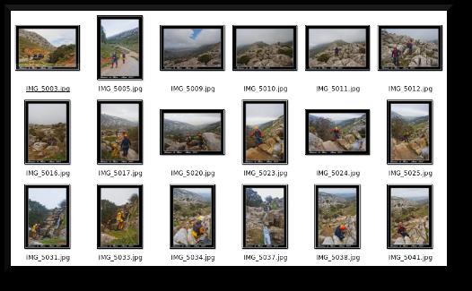 Mas fotos del barranco Huma
