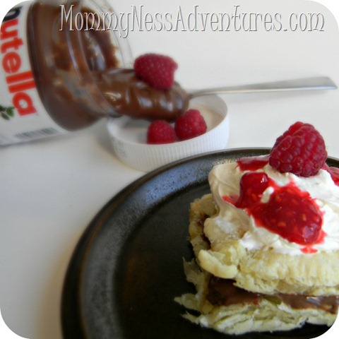 Nutella and Raspberry Pastry 2
