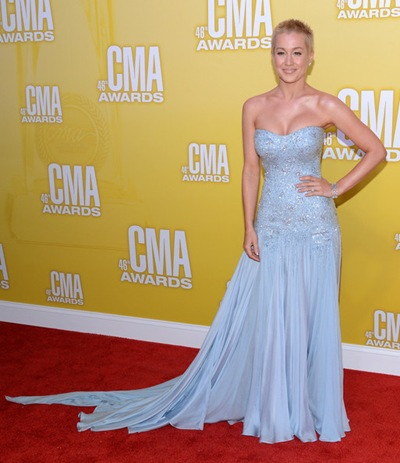 Kellie Pickler 46th Annual CMA Awards Arrivals