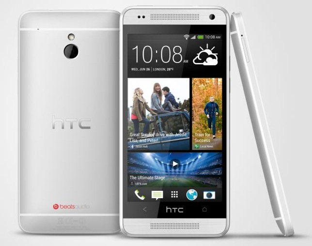 HTC One mini Silver 3Up 575px