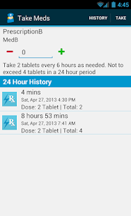 Med Helper Pro Pill Reminder - screenshot thumbnail