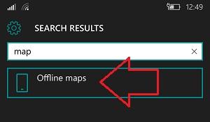 Hướng dẫn tải bản đồ offline về điện thoại Windows 10 Mobile
