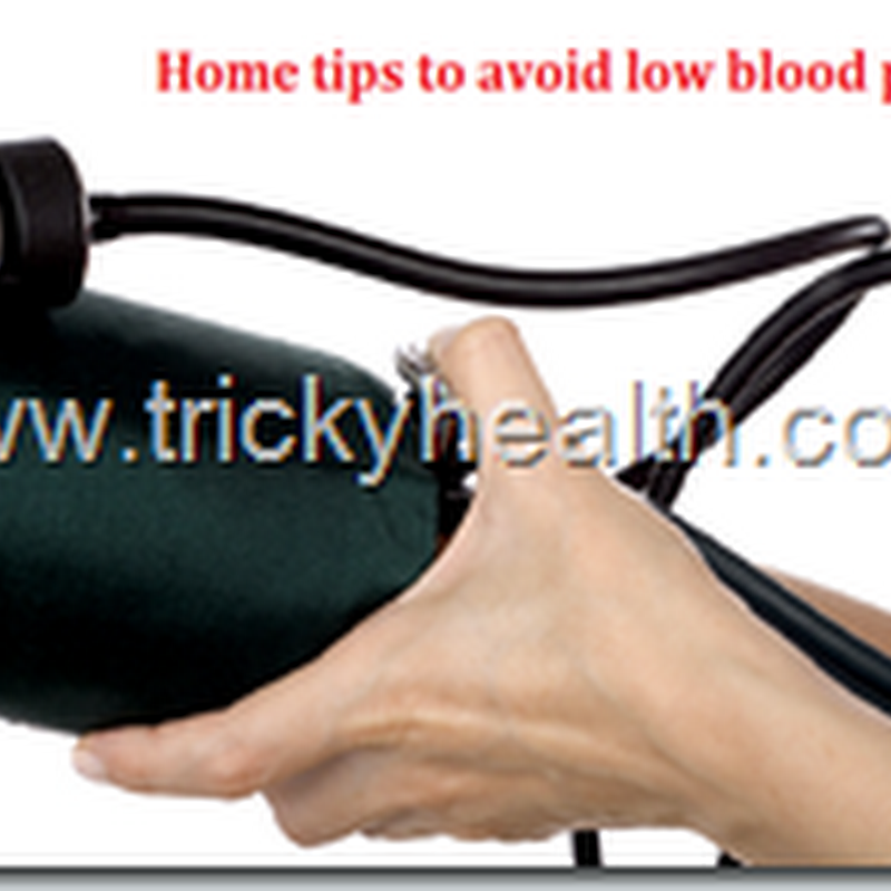 HEALTH CARE TIPS ON HOW TO CURE LOW BLOOD PRESSURE PROBLEM