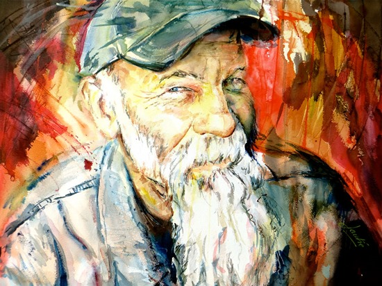 Seasick Steve portrait