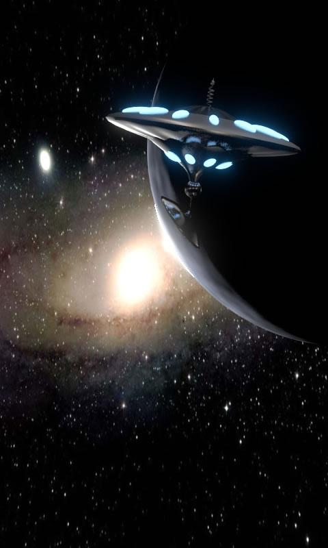 Ufo live wallpaper - screenshot