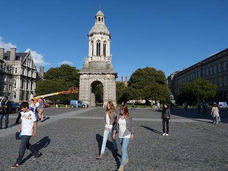 Obiective turistice Dublin: Trinity College