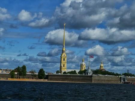 Catedrala Sf. Petru si Pavel la St. Petersburg