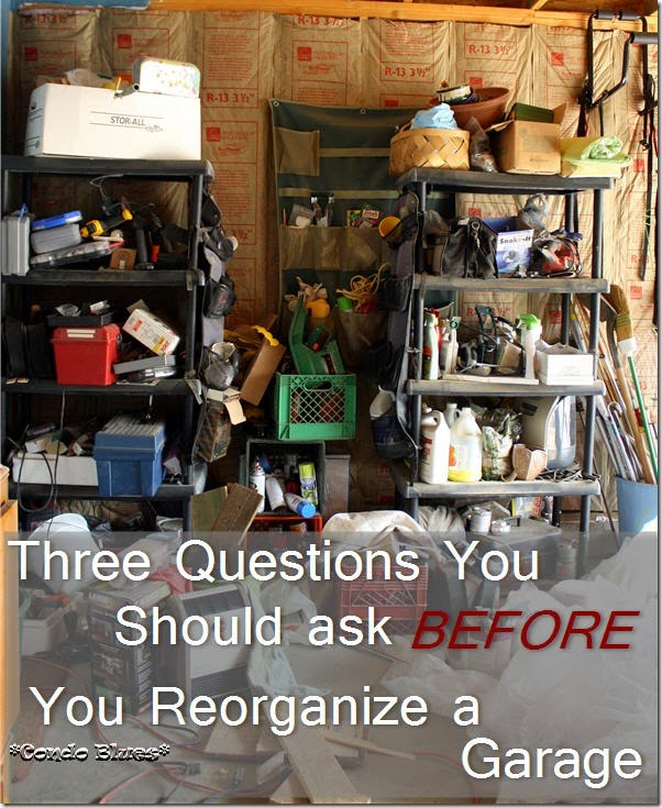three questions to answer for an organized garage and workshop