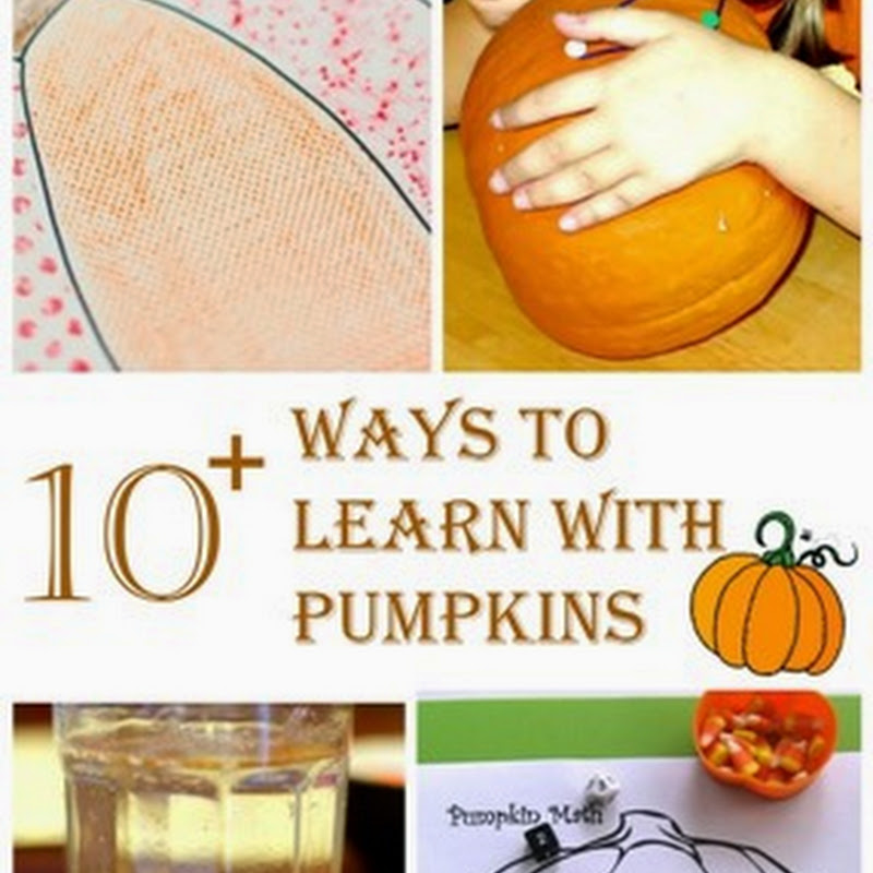 10+ Ways to Learn With Pumpkins