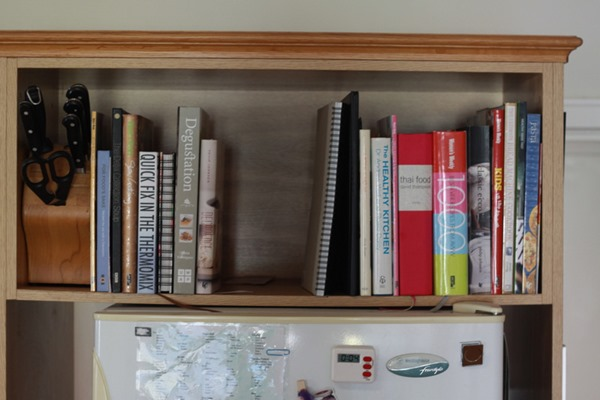 Declutter your cookbooks (3)