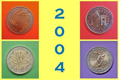 2 Euros 2004