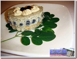 Rosana Ramel White chocolate moringa mousse