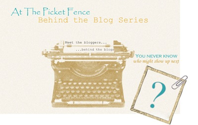 behind the blog graphic lettering