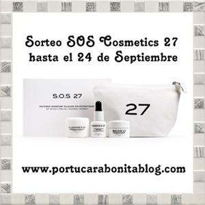 sorteo cosmetics 27 SOS