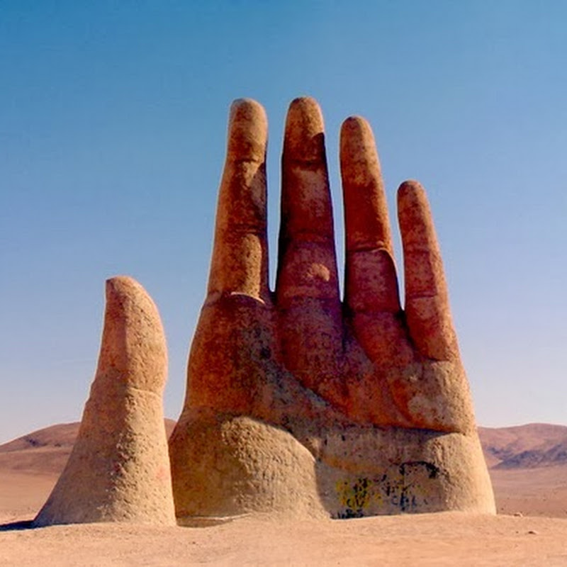 The Hand of the Atacama Desert