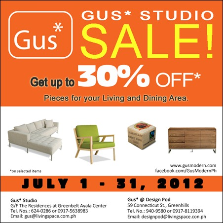 GUS 2012 July Sale