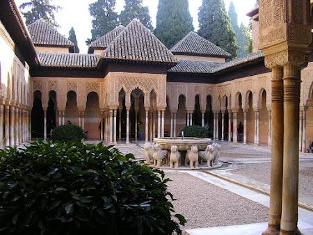 Palate Spania: Alhambra Granada
