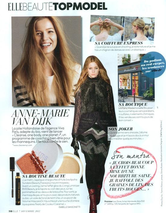 In Fashion We Trust Anne Marie Van Dijk In Elle France