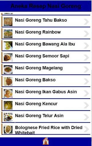 Resep Nasi Goreng Lengkap