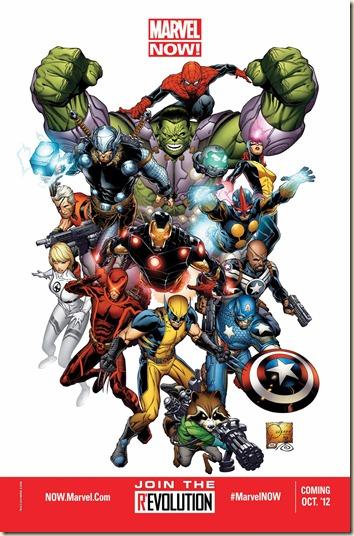 "Civilian Reader: Upcoming: ""Marvel NOW!"""