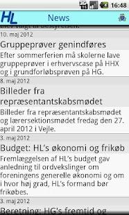 HL News- screenshot thumbnail