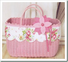 Everything Patchwork basket