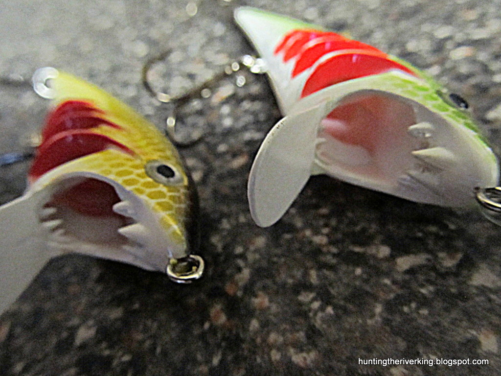 ... company showcasing their lure in action, both in salt and freshwater