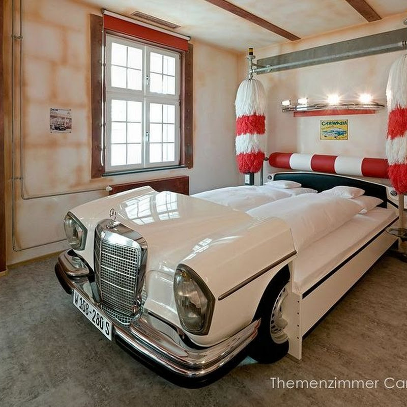 V8 Car Themed Hotel in Stuttgart, Germany